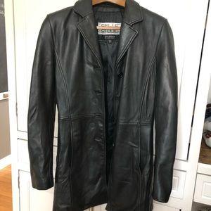 EUC Wilson's Leather Coat